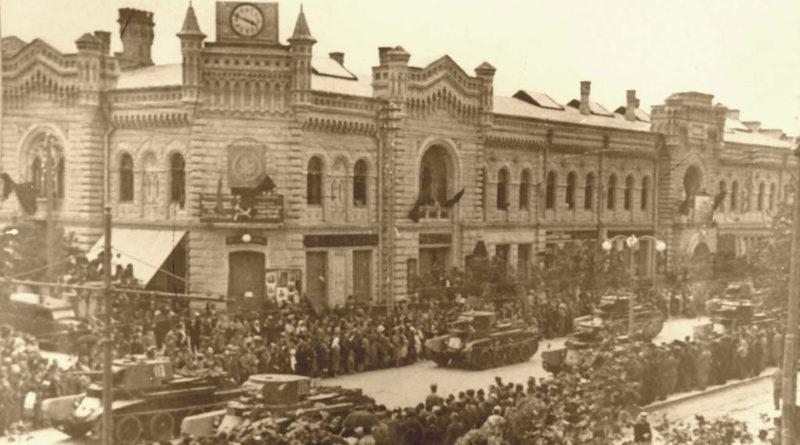 Ocuparea Basarabiei de către trupele sovietice
