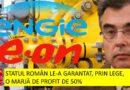 Petrișor Peiu: România a făcut o lege care garantează o marjă de 50% profit a două companii străine Engie si E.On