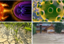 Se adună demonii asupra omenirii: boală, secetă, inundații și acum Radiații Solare Mortale
