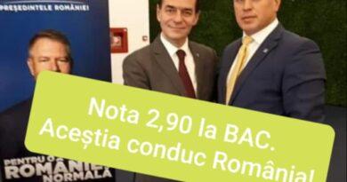 PNL Vrancea. Paraziții cu 2.90 la BAC conduc România