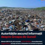 Săuleanu – USR PLUS: Administrația PSD încalcă legea și ține ascunse informații despre groapa de gunoi!