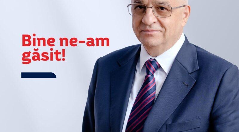 Felix Stroe, președintele PSD Constanța, și-a făcut pagină oficială pe Facebook