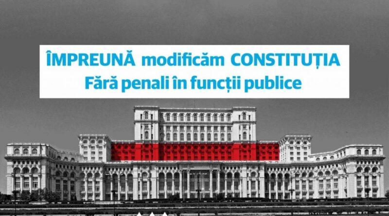 """USR vrea referendumul """"Fără Penali"""" odată cu alegerile parlamentare"""