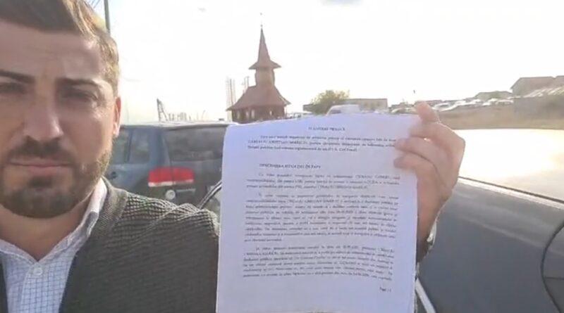 Gabriel Ciobanu, USR Agigea, i-a făcut plângere penală primarului Maricel Cristian Cîrjaliu, PSD