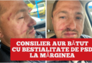 Consilier AUR bătut cu bestialitate de PSD la Mărginea
