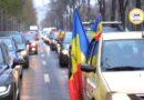 Marș auto impresionant organizat de AUR în București