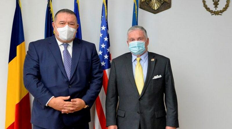Președintele CCIR, Mihai Daraban, întrevedere cu ambasadorul SUA în România, Adrian Zuckerman: Creșterea schimburilor comerciale bilaterale și impactul pandemiei asupra economiei, printre subiectele abordate