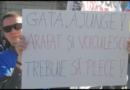 VIDEO: Proteste în mai multe orașe din țară: 'Jos Guvernul, jos Arafat'