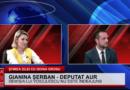 """Gianina Șerban și Bogdan Crefelean (AUR): """"Gluma a devenit realitate. Avem taxă pe aer. Porți mască sau primești amendă"""""""