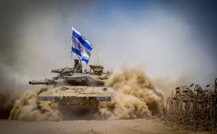 RĂZBOI: Israelul intră în Fâșia Gaza