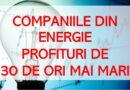 JAF NAȚIONAL: ENGIE are profituri din energie de aproape 30 de ori mai mari decât ERBAȘU din construcții