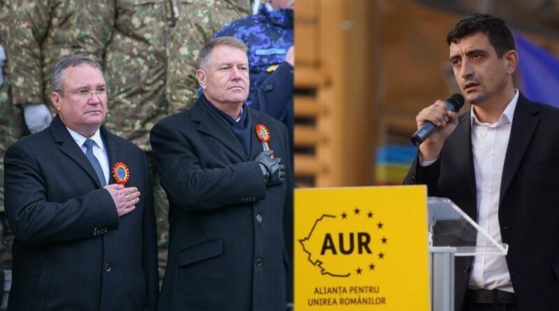 SURSE. AUR: Premieri generali se mai găsesc doar prin Africa, noi suntem în UE. Pas, Ciucă